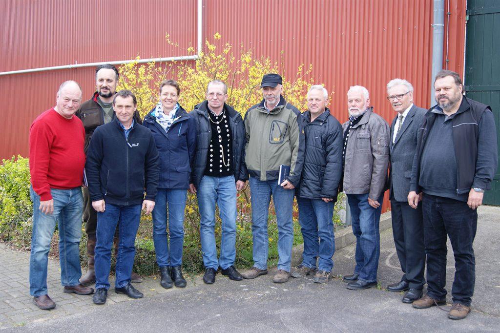 . . Vorstand des LSZV seit April 2017